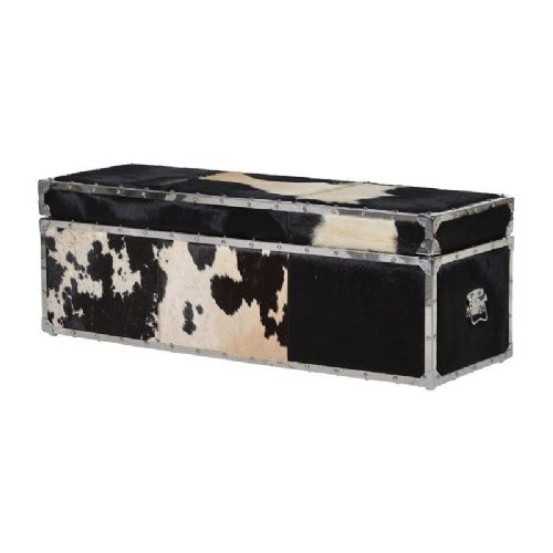Large Cowhide Trunk